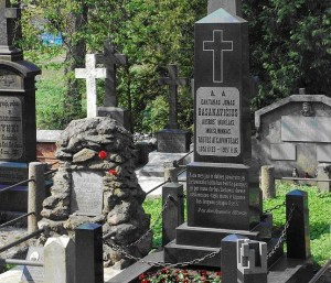 Jono Basanavičiaus kapas Vilniaus Rasų kapinėse