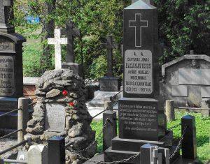 Jono Basanavičiaus kapas Vilniaus Rasų kapinėse | wikipedia.org nuotr.