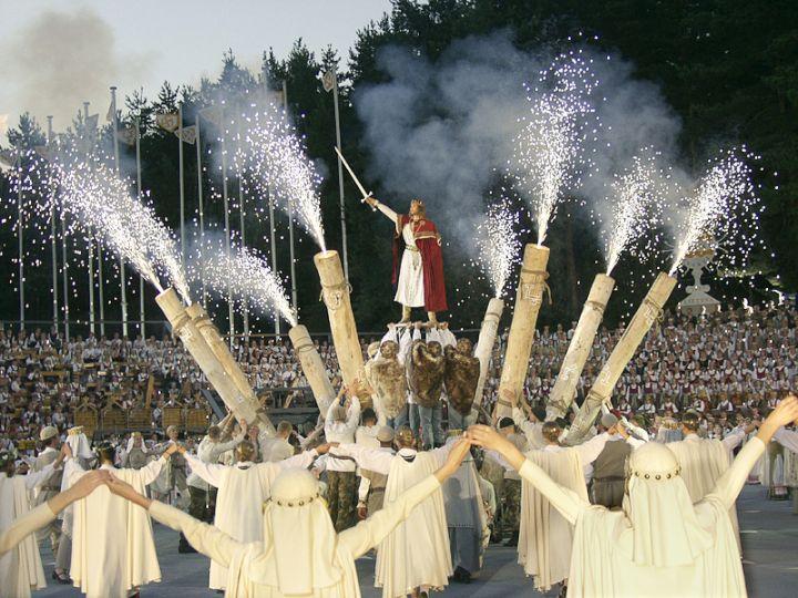 Dainų šventė 2003 | llkc.lt nuotr.