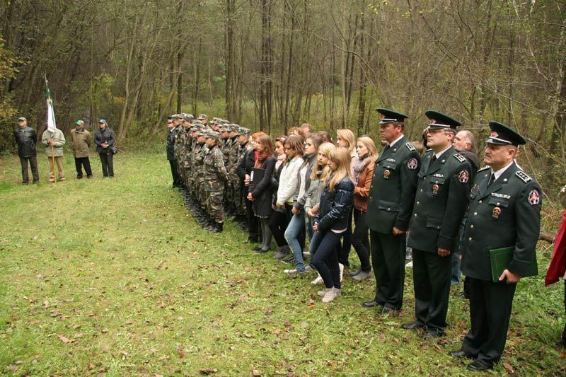 Pasieniečio Jurgio Kybarto žūties metinių minėjimas | pasienis.lt nuotr.