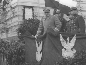 Pilsudskis Vilniuje, 1933 04 20 | audiovis.nac.gov.pl nuotr.