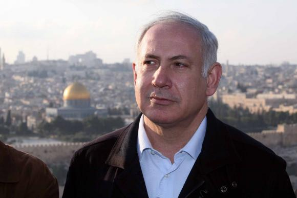 Izraelio premjeras Benjaminas Netanyahu