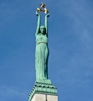 Latviijos Laisvės paminklas   endex.com nuotr.