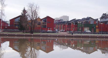 Medinių miestų renesansas Suomijoje
