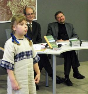 Pasakotoja širvintiškių tarme Aurėja Sližauskaitė