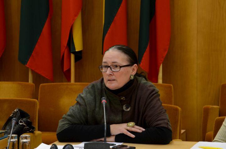 VEU prof. Giedrė Kvieskienė pažėrė kritikos ekepertų siūlymams dėl universitetų tinklo optimizavimo | Sigitos Nemeikaitės nuotr.