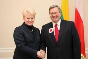 Dalia Grybauskaitė ir Bronislavas Konorovskis   lrp.lt nuotr.