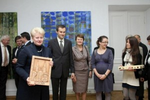 Dalia Grybauskaitė susitinka su Lenkijos lietuviais   lrp.lt nuotr.