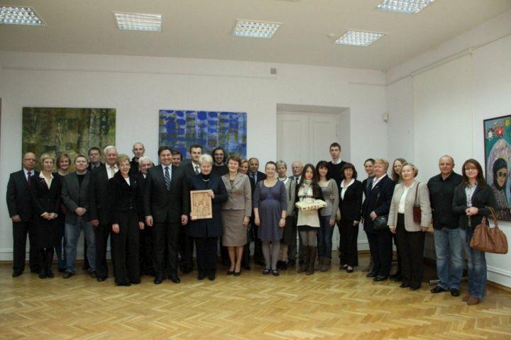 Dalia Grybauskaitė susitinka su Lenkijos lietuviais | lrp.lt nuotr.