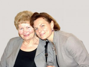Diana Mickevičienė su mama | A.Piškinaitės nuotr.