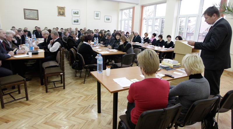 Lenkijos lietuvių bendruomenės suvažiavimo akimirka | punskas.pl nuotr.