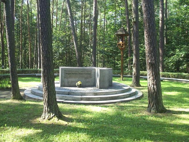 Monumentas S.Dariui ir S.Girėnui | Wikipedia nuotr.