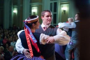 Ramunas Skaudžius tautinio šokio sukūryje | Feisbuko nuotr.