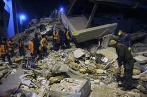 Žemės drebėjimas Turkijoje | AP / Evrim Aydin, Anatolia nuotr.