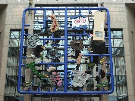 """David Černy instaliacija """"Entropa"""", Čekijos pirmininkavimas 2009 m."""