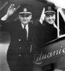 Steponas Darius ir Stasys Girėnas, Lithuanica 1933 m.