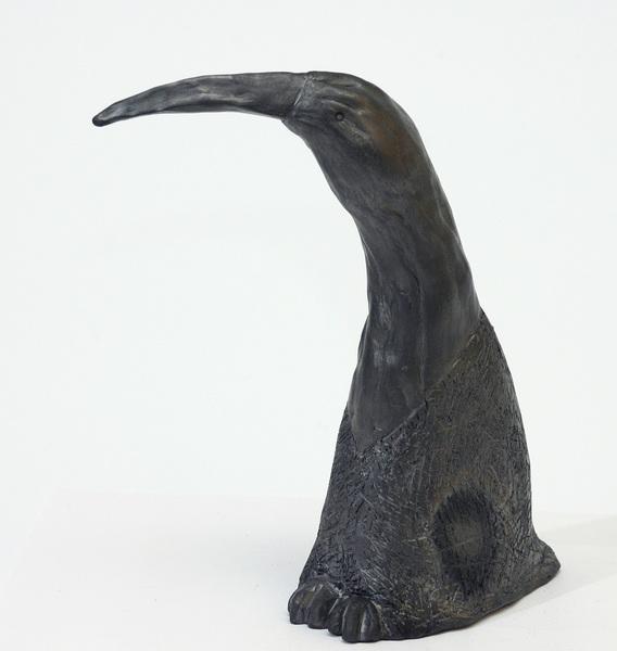 Eugenijaus Paukščio Paukštis, juodoji keramika