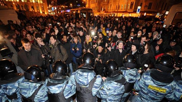 Protestai Rusijoje | Scanpix  nuotr.