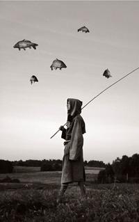 """Algis Griškevičius """"Dangaus piemuo"""" 2007, tonuota fotografija"""