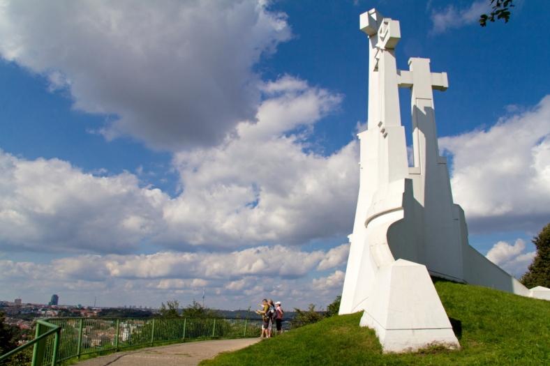 Trijų kryžių klnas | Kristinos Stalnionytės nuotr.