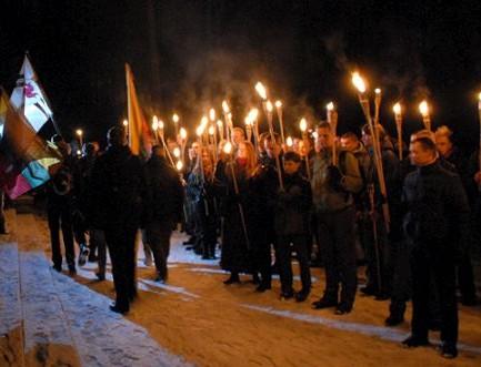Sausio 13-os patriotinio jaunimo eisena su deglais | Alkas.lt, Vaivos Strikaitytės nuotr.