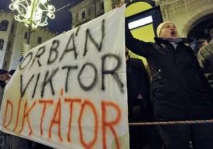Protestai Vengrijoje | AFP nuotr.