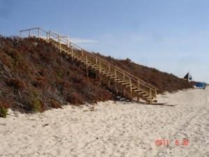 Preilos paplūdimys 2011 m. prasidėjus vasaros sezonui