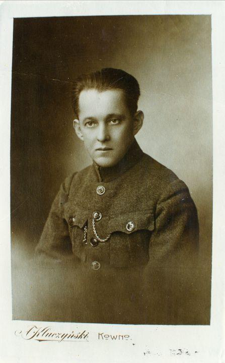 Vincas Krėvė Šaulių sąjungos pirmininkas -1922 m.
