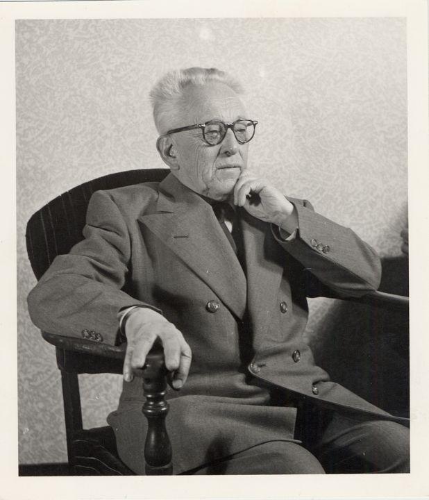 Vincas Krėvė Pensilvanijos universiteto profesorius -1953 m.