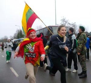 Sausio 13-osios bėgimas | trakai.lt, L.Sinkevičiaus nuotr.