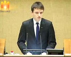 Linas Kojala | lrs.lt videotransliacijos stop kadras