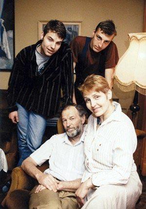 R.Adomaitis su šeima 2009 m. | lrytas.lt nuotr.
