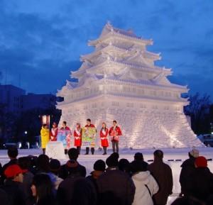 Saporo ledo skulptūrų festivalis | jenninjapan.wordpress.com nuotr.