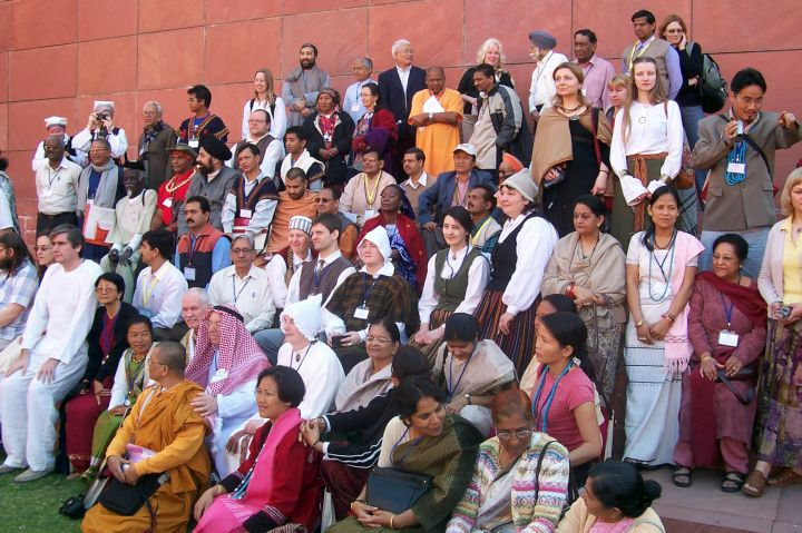 Pasaulio religijų kongresas Nagpure, Indijoje 2009 m. | Alkas.lt nuotr.