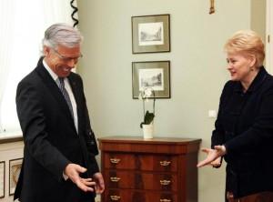 K.Volebekas ir D.Grybauskaitė | lrp.lt nuotr.