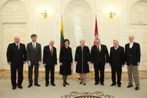 2012 m. Nacionalinių kultūros ir meno premijų įteikimas Prezidentūroje | lrp.lt nuotr.