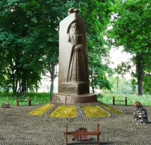 Monumentas vaidilutei, LDK Kunigaikštienei Birutei | G.Radzevičiaus, Alkas.lt nuotr.