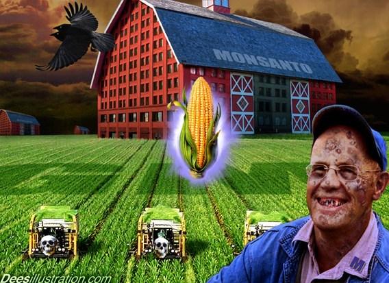 GMO + ACTA | deesiliustration.com nuotr.
