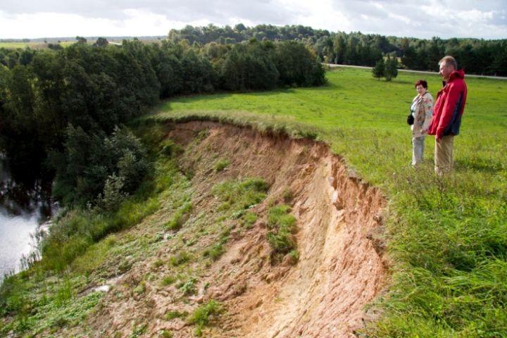 Svirkančių geologinė atodanga