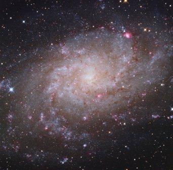 Trikampio galaktika. NASA nuotr.