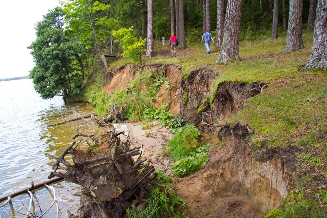 Vištyčio ežero kranto erozija
