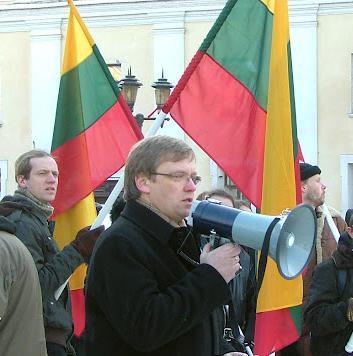 Zigmas Vaišvila, 2012 02 16 d. mitinge Kaune | Alkas.lt, Z.Langaičio nuotr.