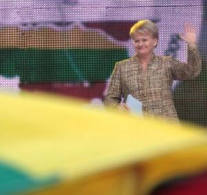 Prezidentė Dalia Grybauskaitė   lrp.lt nuotr.