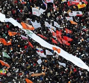 Vasario 4 d. opozicijos mitingas Bolotnaja aikštėje, Maskvoje | RIA novosti nuotr.