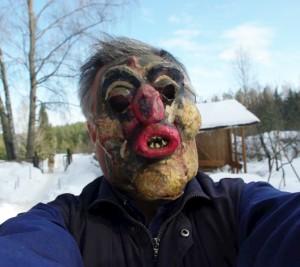 Užgavėnių kaukė | Alkas.lt, J. Vaiškūno nuot.