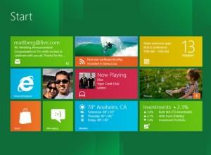 """""""Windows 8"""" išvaizda"""