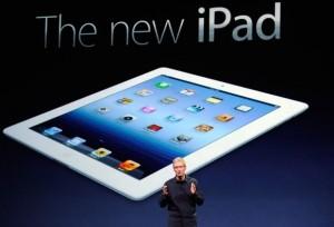 """""""Apple"""" vadovas Timas Cukas pristato """"iPad 3"""""""