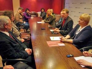 EKGT ir LRT tarybų atstovų susitikimas | Alkas.lt, J.Vaiškūno nuotr.