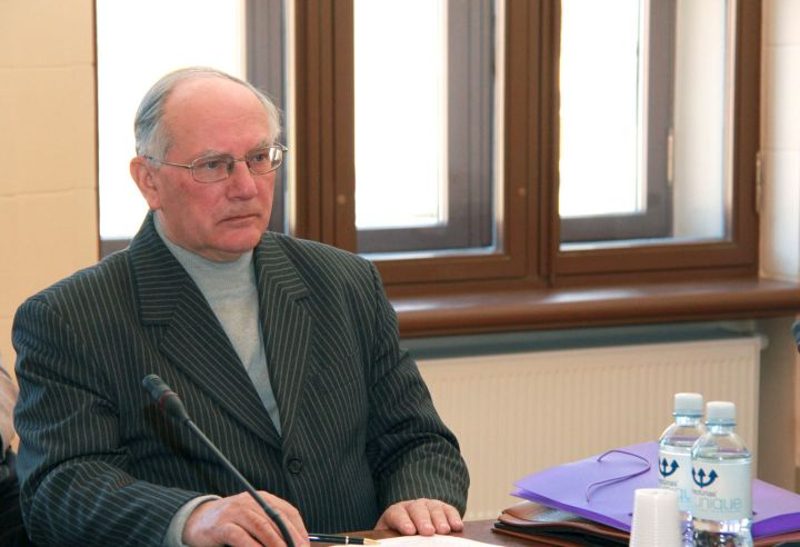 """Leonas Milčius mokslinėje konferencijoje """"Tautos ir jos žemės jungtis prof. Mečislovo Treinio spaudiniuose"""""""