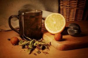 Liepžiedžių arbata su medumi   efoto.lt, M.Butkaus nuotr.